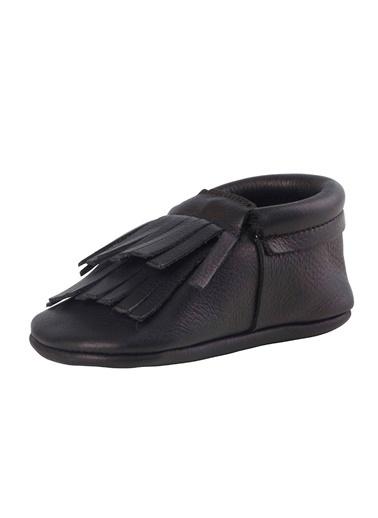 Moots Moots Beyaz Pembe Kanatlı Ayakkabı Siyah